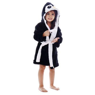 Giambrone Animal Adventures Hooded Terry Bathrobe Size: Small