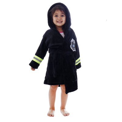 Giambrone Heroes Policeman Soft Hooded Terry Bathrobe Size: Large