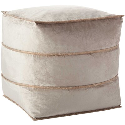 Pouf Finish: Beige