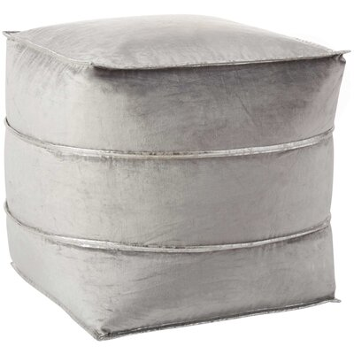 Pouf Finish: Light Grey