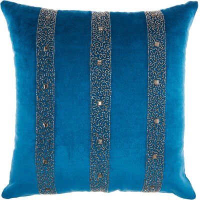 Throw Pillow Color: Royal Blue