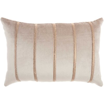 Lumbar Pillow Color: Beige