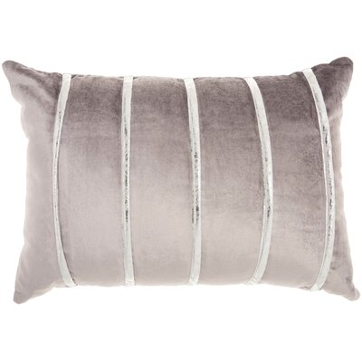 Lumbar Pillow Color: Dark Grey