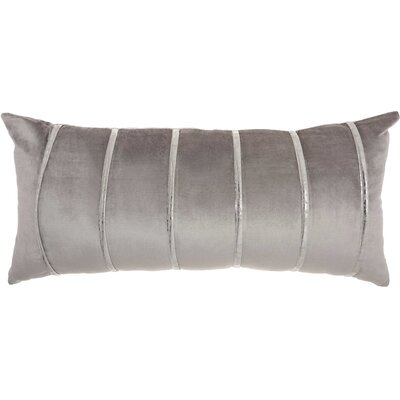 Lumbar Pillow Color: Light Grey