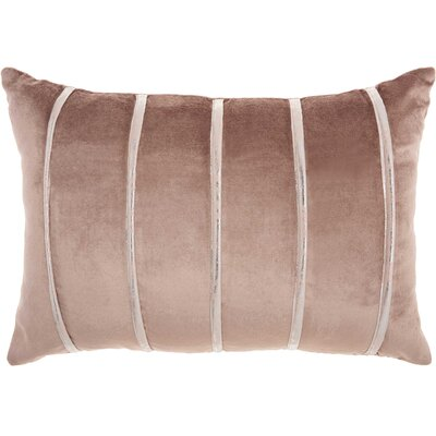 Lumbar Pillow Color: Nude
