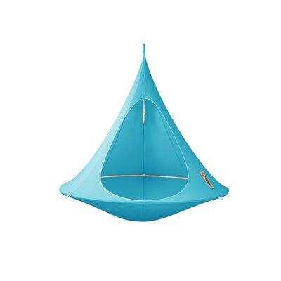 Double Chair Hammock Color: Turquoise