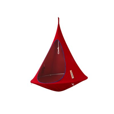 Single Chair Hammock Color: Chili Red