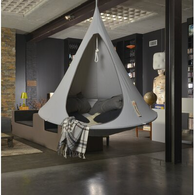 Single Chair Hammock Color: Light Gray