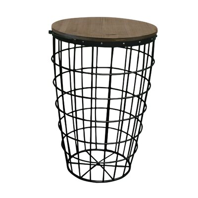 Pflugerville Mini Basket End Table