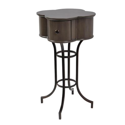 Maude Clover End Table Color: Mocha