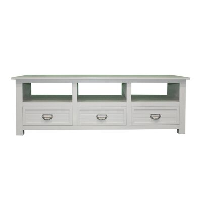Pfeffer Media 52 TV Stand Color: Sandy Gray