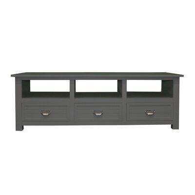 Pfeffer Media 52 TV Stand Color: Dark Gray