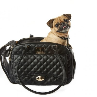 Classic Quilted Luxury Pet Carrier