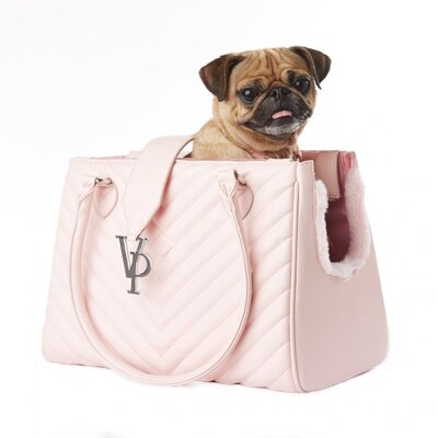 Monogrammed Strap Pet Carrier