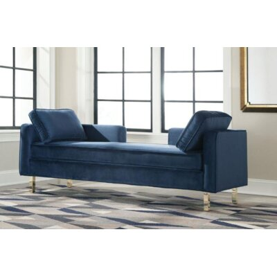 Licker Fabric Chaise Lounge