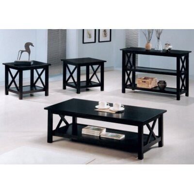 Boutwell 3 Piece Coffee Table Set Color: Dark Merlot