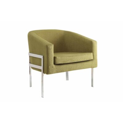 Pentwater Barrel Chair Upholstery: Green