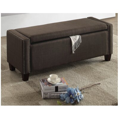 Arnow Ottoman Upholstery : Black