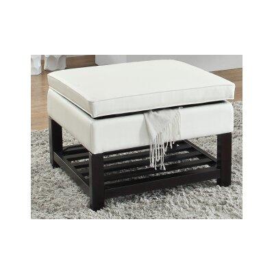 Toler Ottoman Upholstery : White