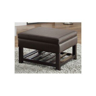 Toler Ottoman Upholstery : Brown