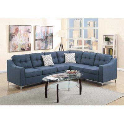 Sebrina Sectional Upholstery : Naval