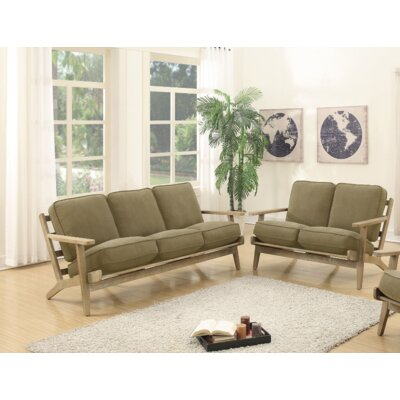 Arquette 2 Piece Living Room Set Upholstery : Willow