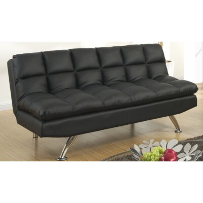 Rohde Reclining Sofa Upholstery : Black