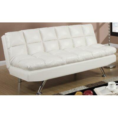 Rohde Convertible Sofa Upholstery : White