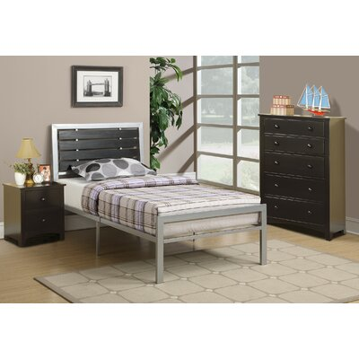 Lombardy Platform Bed Size: Twin