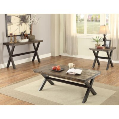 Bethnal 3 Piece Coffee Table Set