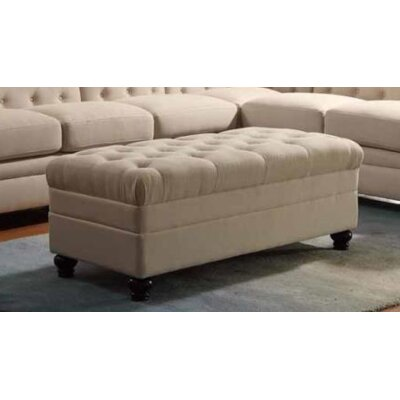 Claudelle Storage Ottoman Upholstery: Oatmeal