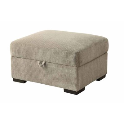 Bueno Storage Ottoman Upholstery: Taupe