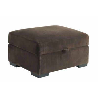 Bueno Storage Ottoman Upholstery: Chocolate