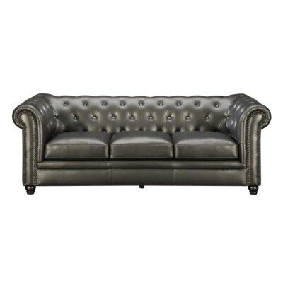 Desid�ria Chesterfield Sofa Upholstery: Gunmetal