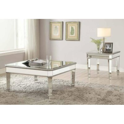 Claremont 2 Piece Coffee Table Set