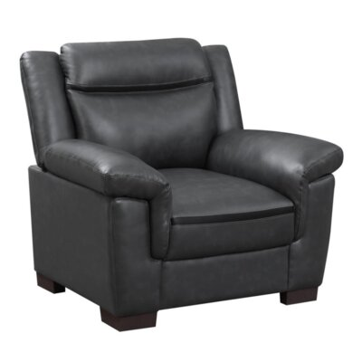 Robeson Armchair Upholstery: Black