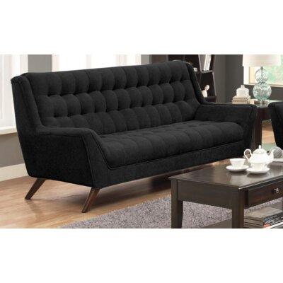Britney Sofa Upholstery: Black