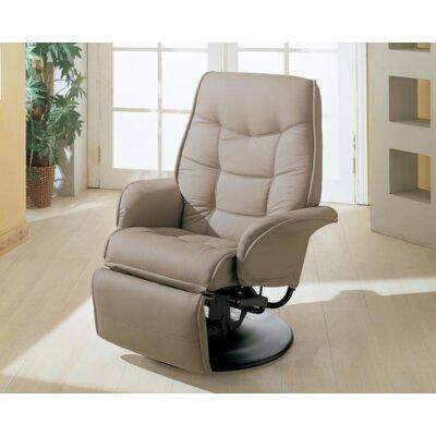 Roden Swivel Recliner Upholstery: Beige