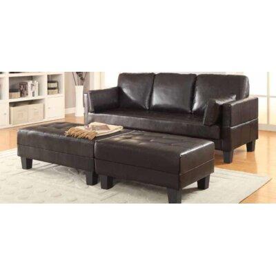Tolchester Sleeper Upholstery: Dark Brown