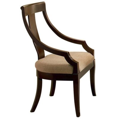 Richbell Solid Wood Upholstered Dining Chair