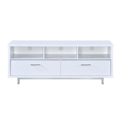Hefley 60 TV Stand Color: White