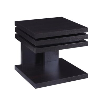 Violette End Table with Storage