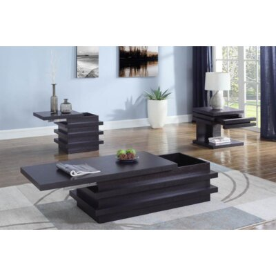 Violette 3 Piece Coffee Table Set
