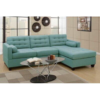 Viva Reversible Sectional Upholstery: Laguna