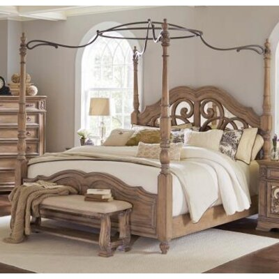 Antonie Canopy Bed Size: King