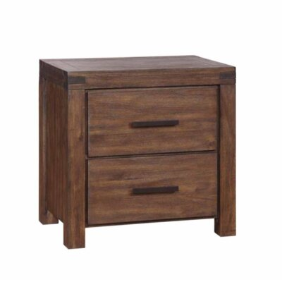 Tara 2 Drawer Nightstand