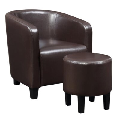 Chauntel Barrel Chair and Ottoman