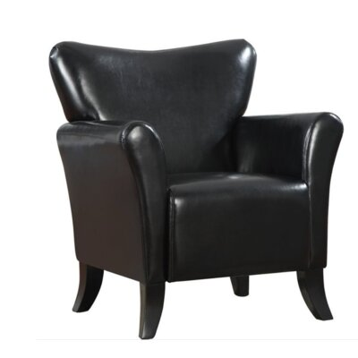 Che Club Chair Upholstery: Black