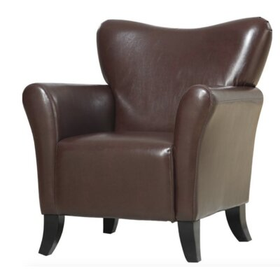 Che Club Chair Upholstery: Brown