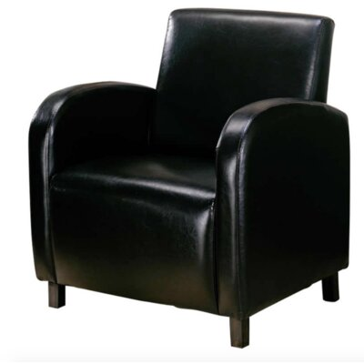 Chenelle Club Chair Upholstery: Dark Brown